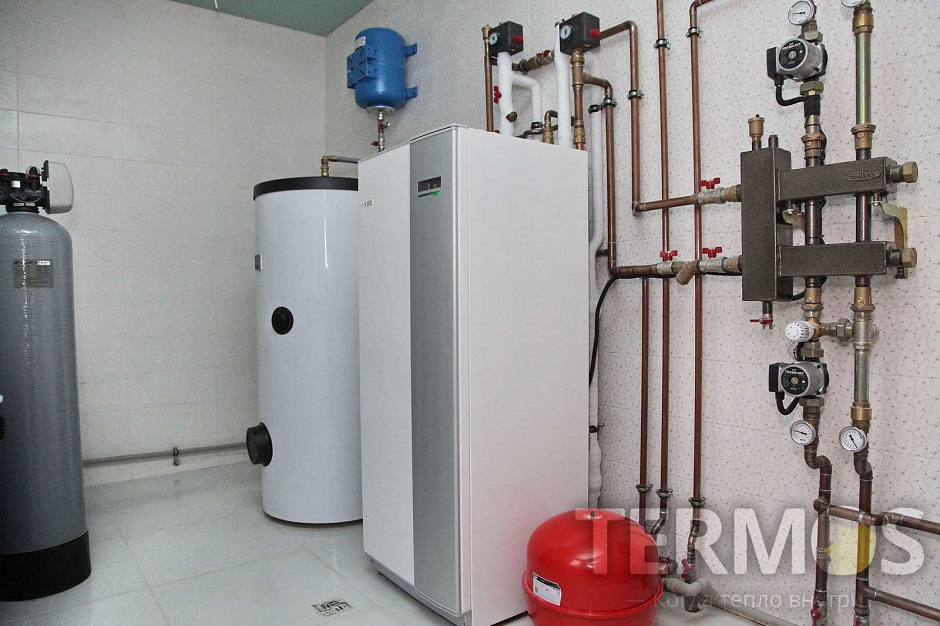 Будинок 240 кв м Геотермальний тепловий насос NIBE (Швеція) 12 кВт