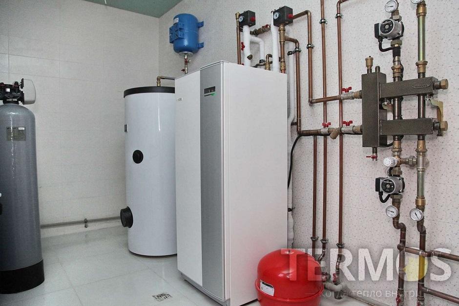 Дом 240 кв м Геотермальный тепловой насос NIBE (Швеция) 12 кВт