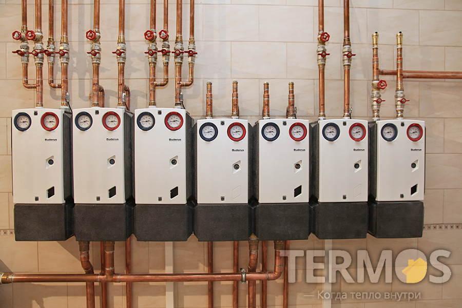 Монтаж систем отопления в Киеве| Термос