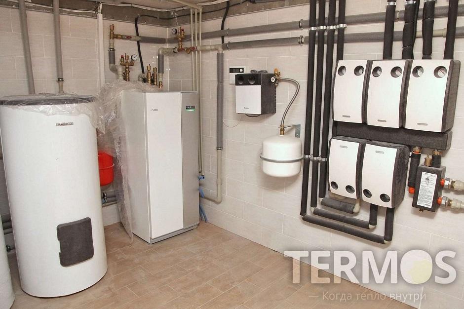 Будинок 350 кв м Геотермальний тепловий насос NIBE (Швеція) 16 кВт
