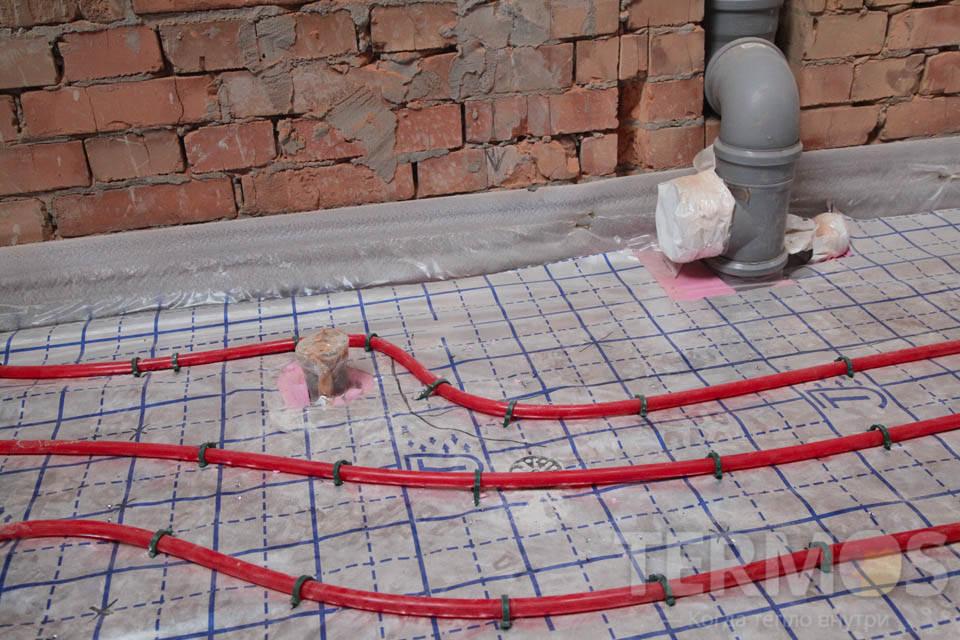 Висновки каналізації в санвузлі