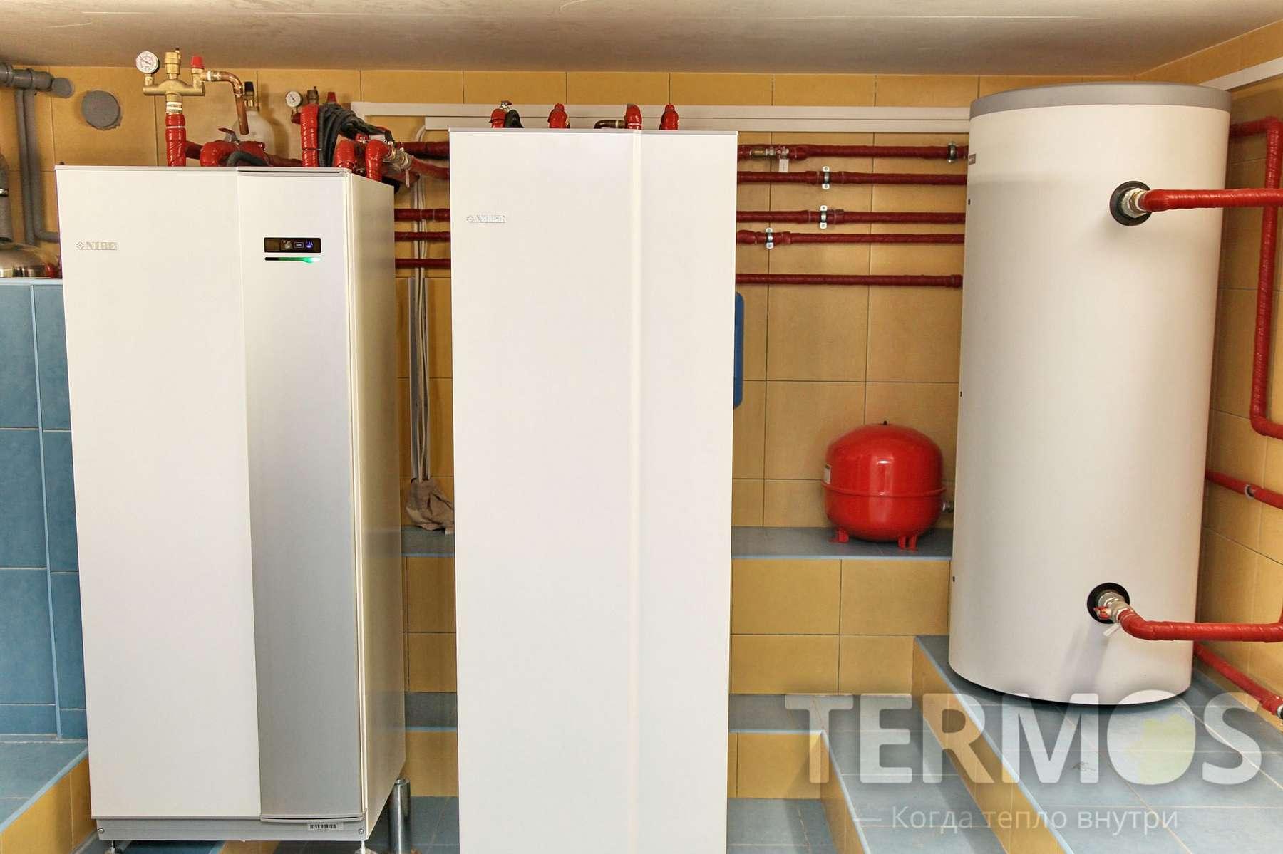 Сумы. Дом 350 кв м. Mодернизация системы отопления - замена газового котла на геотермальный тепловой насос.