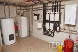 """Проект """"Дарниця"""" - котедж 350 м2 - геотермальний тепловий насос NIBE F1155 16 кВт"""
