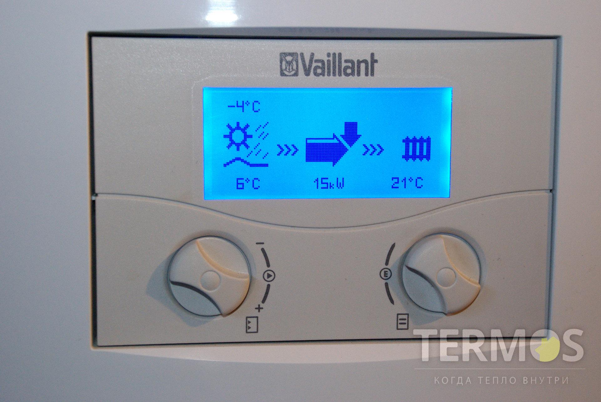 2008 год, Васильков. Дом 600 м кв. Автоматика управления геотермальными тепловыми насосами Vaillant
