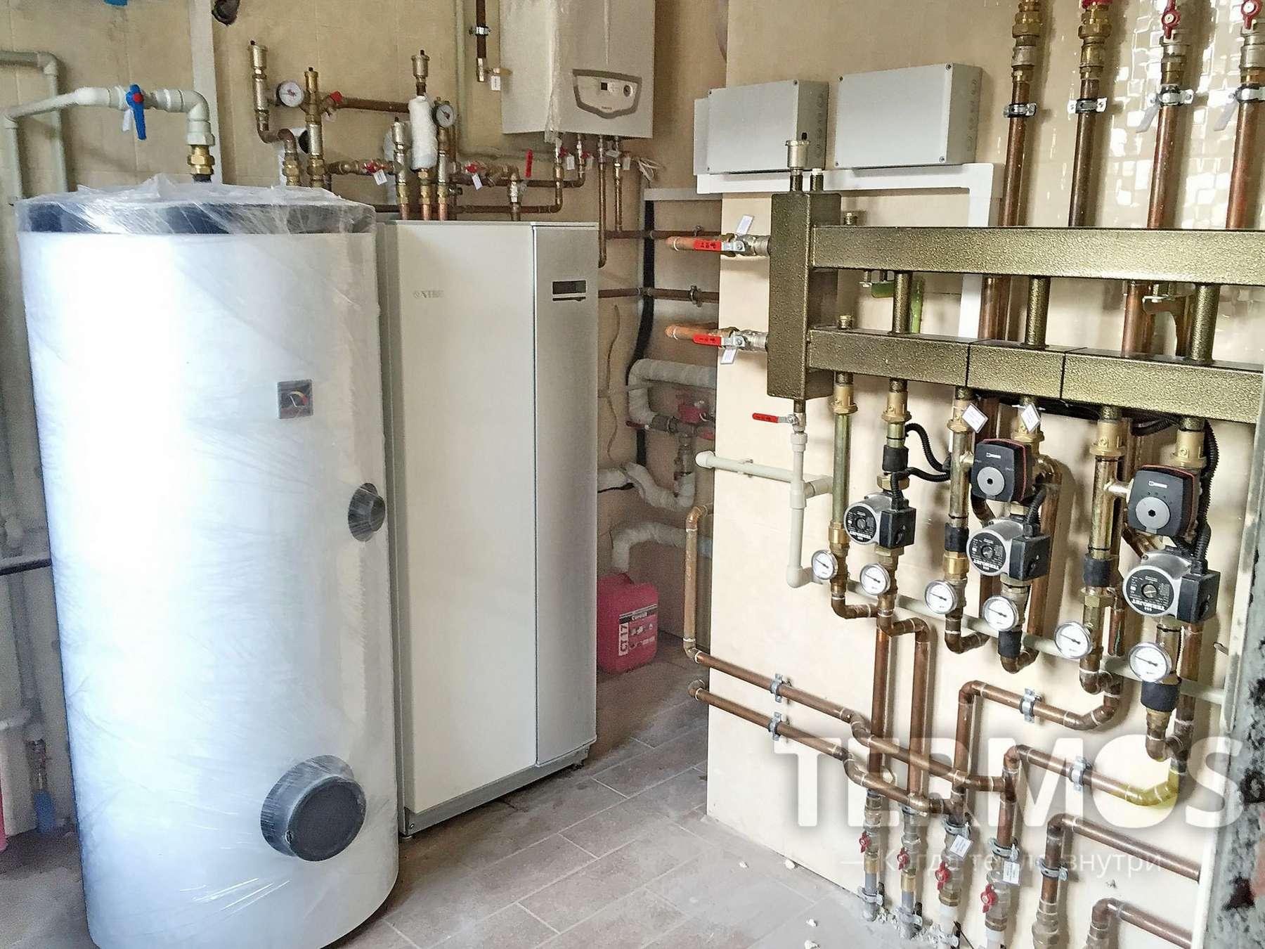 Геотермальный инверторный тепловой насос NIBE Швеция 16 кВт