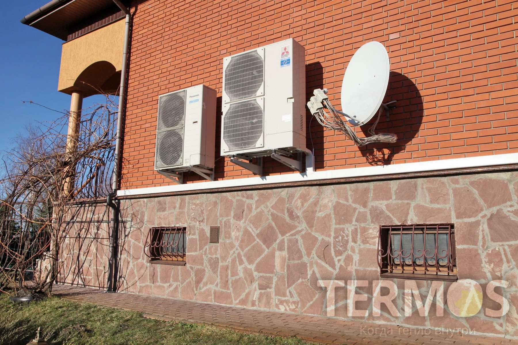 Воздушный тепловой насос MITSUBISHI ELECTRIC Zubadan 14 кВт