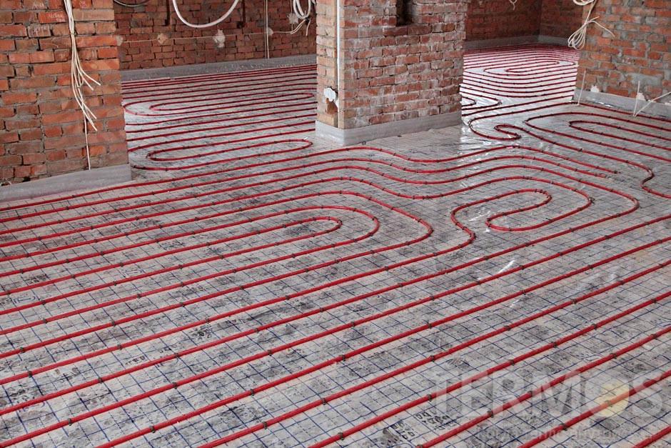 Тепла підлога. Труба Kan-THERM d18