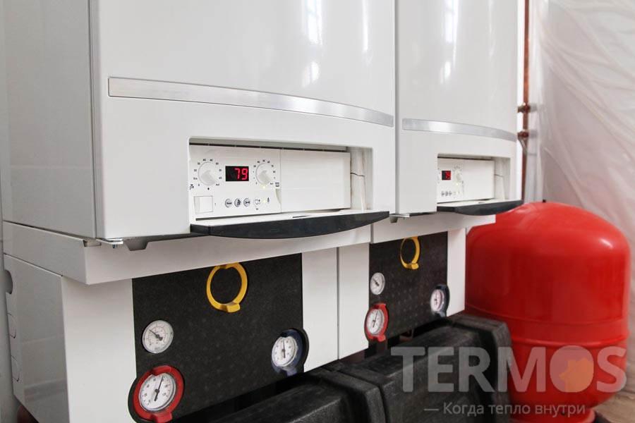 Газовые конденсационные котлы Buderus 2 x 100 кВт