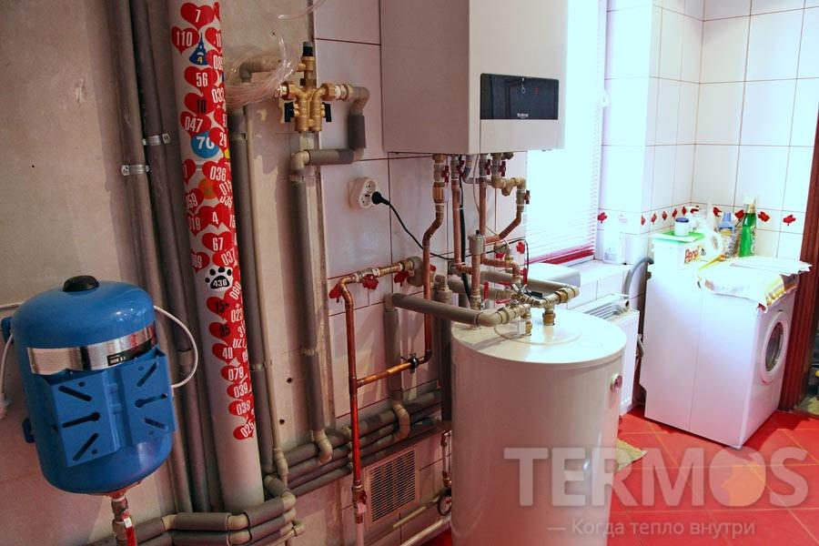 Газовый двухконтурный котел Buderus Logamax U042 K