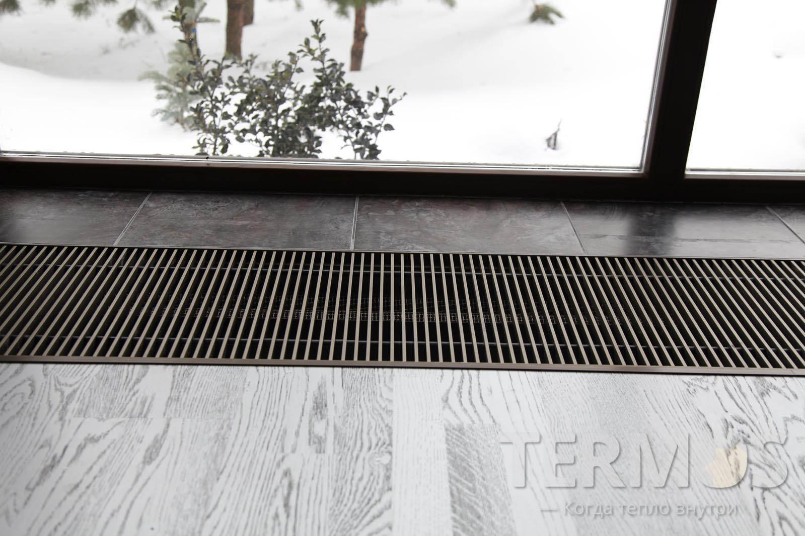 Сьемная декоративная решетка, подбирается под конкретный интерьер