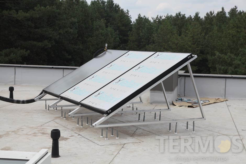 Сонячні колектора Vaillant auroTHERM VFK 145 V 3 шт