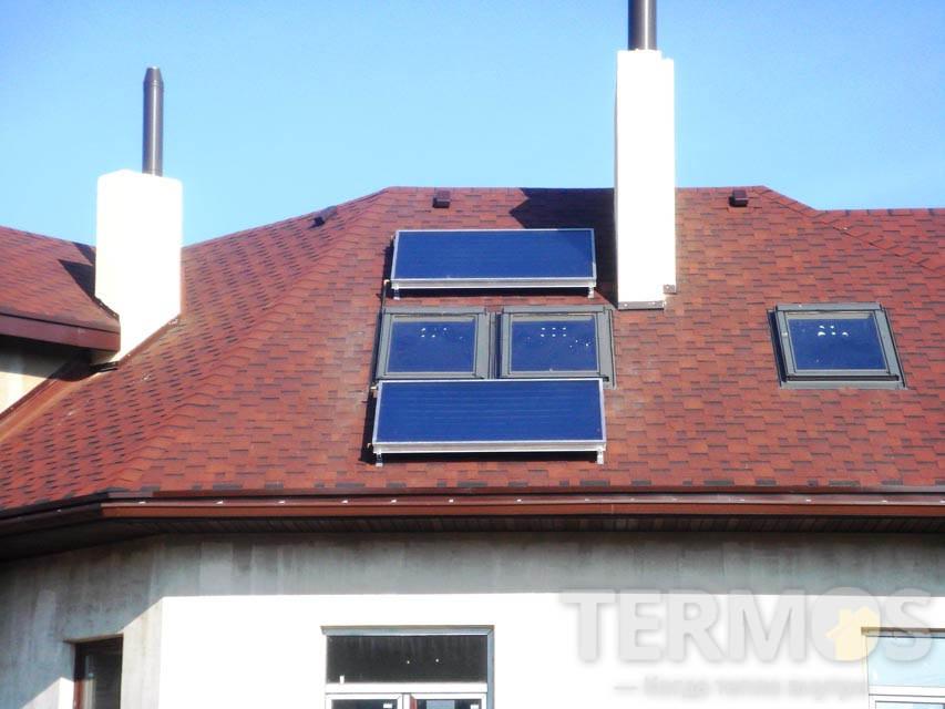 Плоскі сонячні колектори по 2,2 м2 Vaillant VKF 900