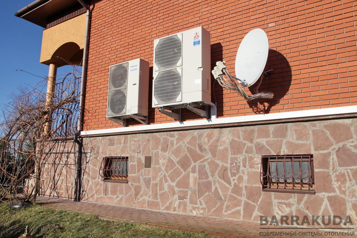 Повітряний тепловий насос MITSUBISHI ELECTRIC Zubadan 14 кВт