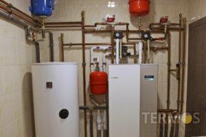 Економічна система опалення на геотермальному тепловому насосі NIBE (Швеція) 10 кВт