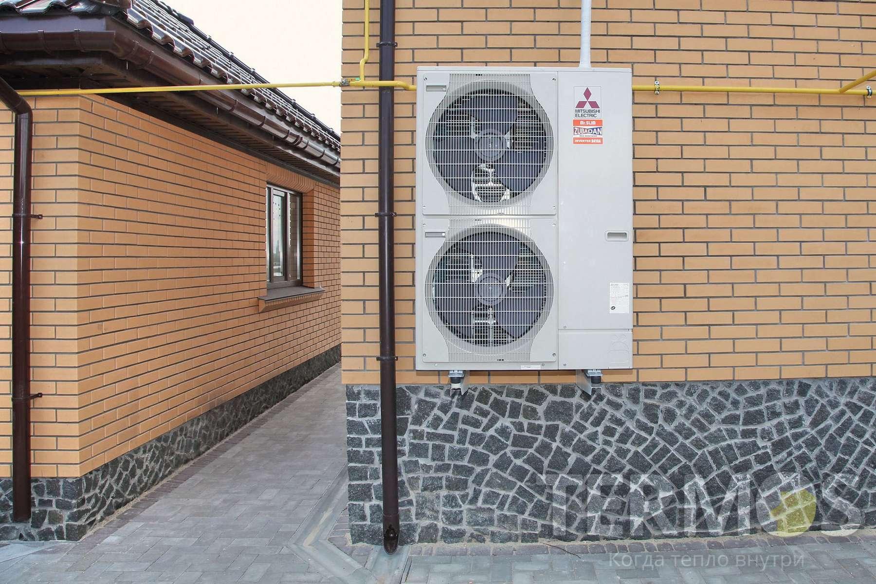Установка теплового насоса в Киеве