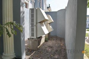 Воздушные тепловые насосы - установка на даче