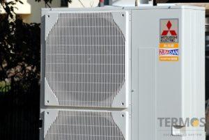 Воздушные тепловые насосы - установка в загородном доме