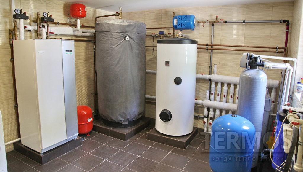 Монтаж геотермальных тепловых насосов