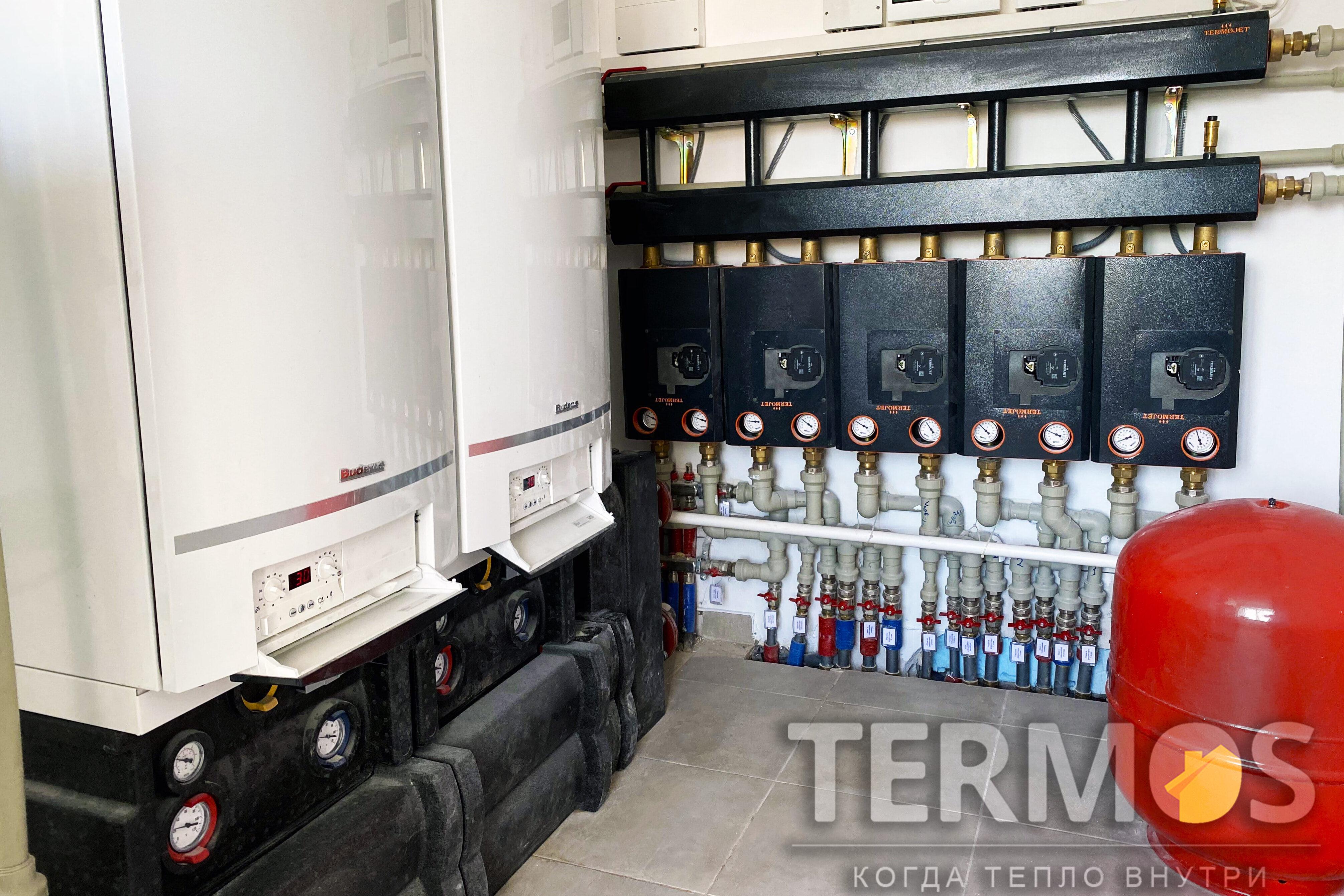 Газовые конднсационные котелы Valliant ecoTEC plus VU OE 1006 /5 -5 96,2 кВт. Номинальный КПД 109%