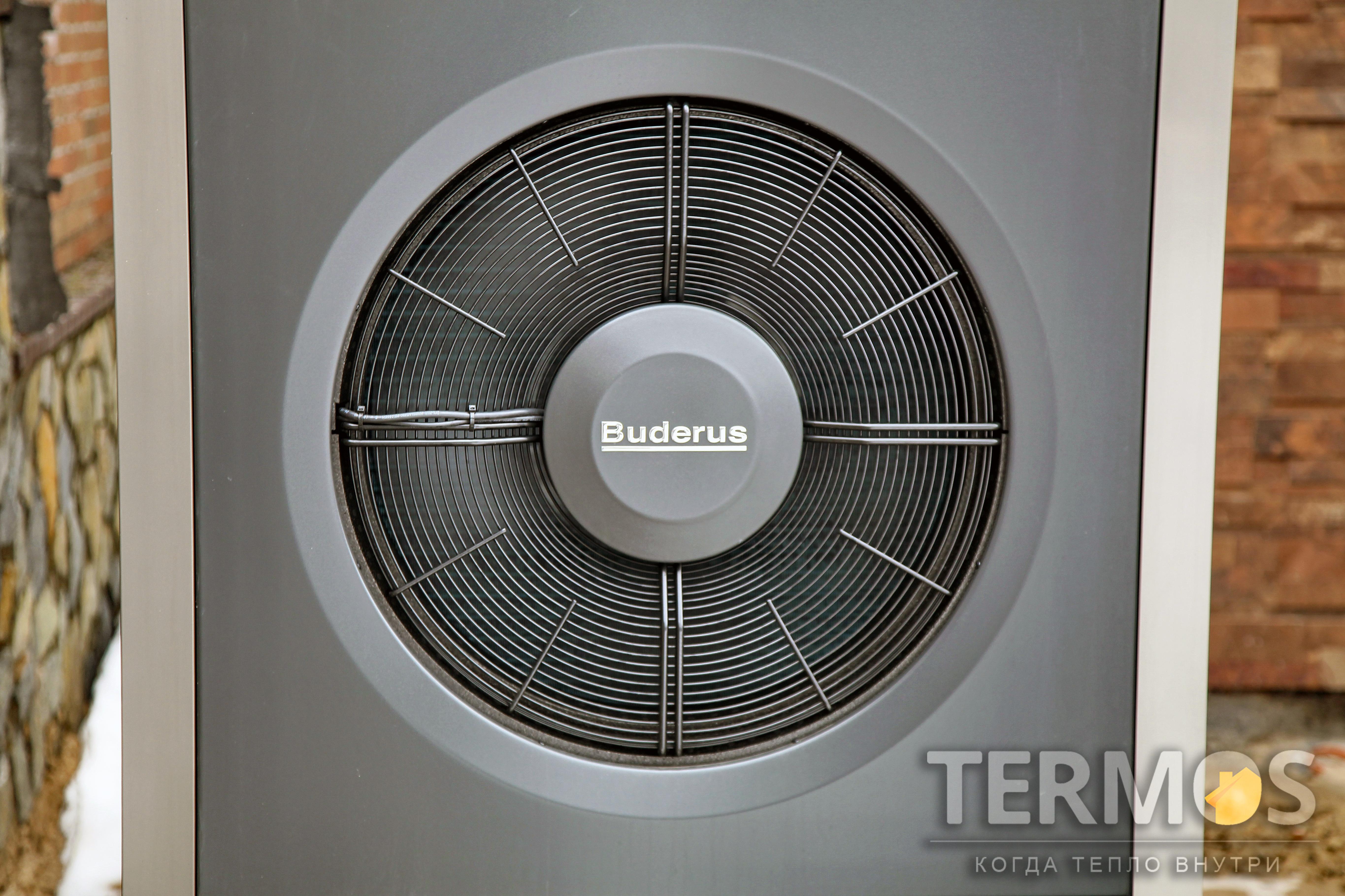 Реверсивный воздушный тепловой насос BUDERUS Logatherm WPL 17 ARB 17 кВт. Эффективное отопление зимой и охлаждение летом в автоматическом режиме
