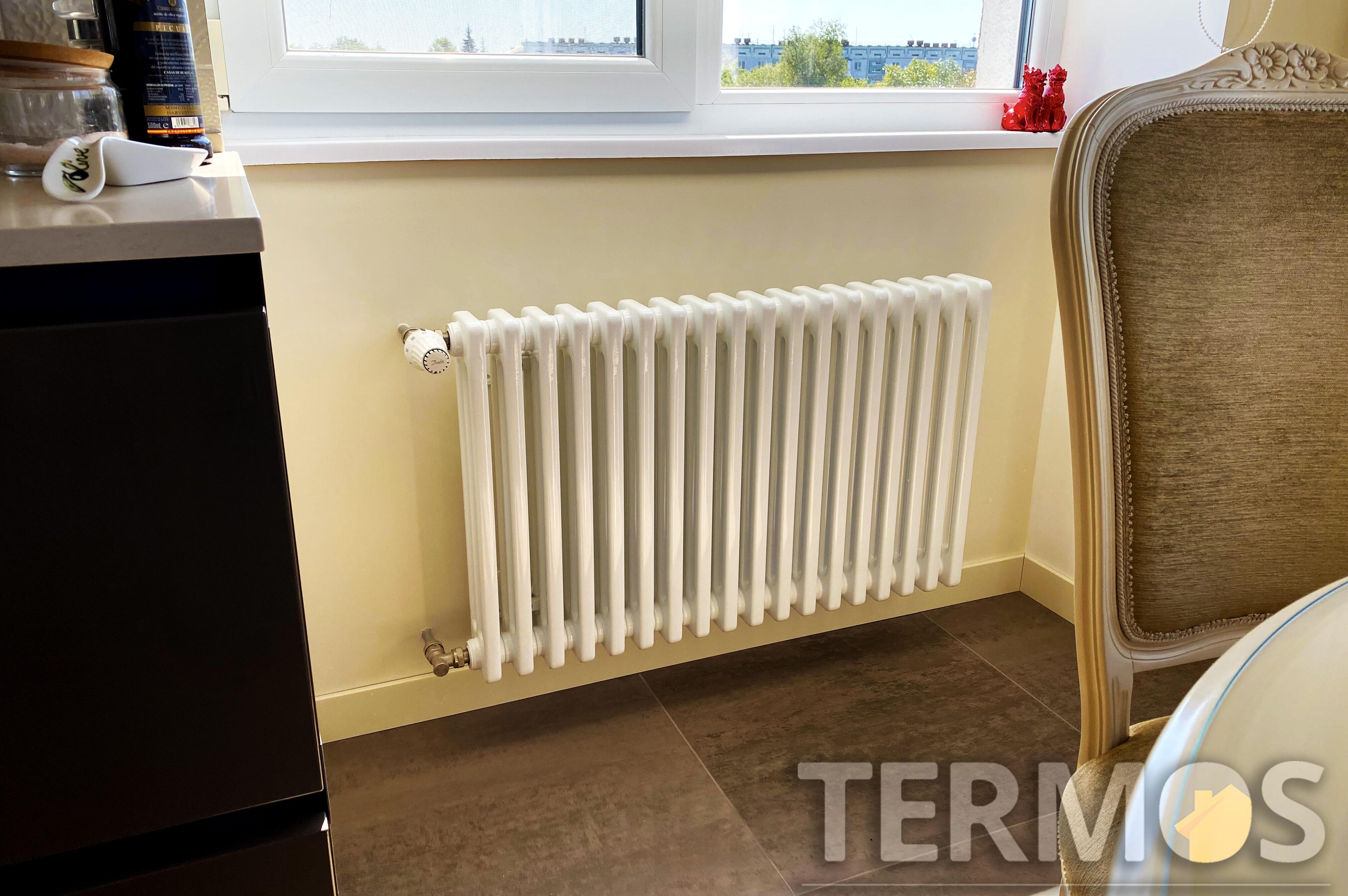 Стальные трубчатые радиаторы имеют различные вертикальные и горизонтальные размеры