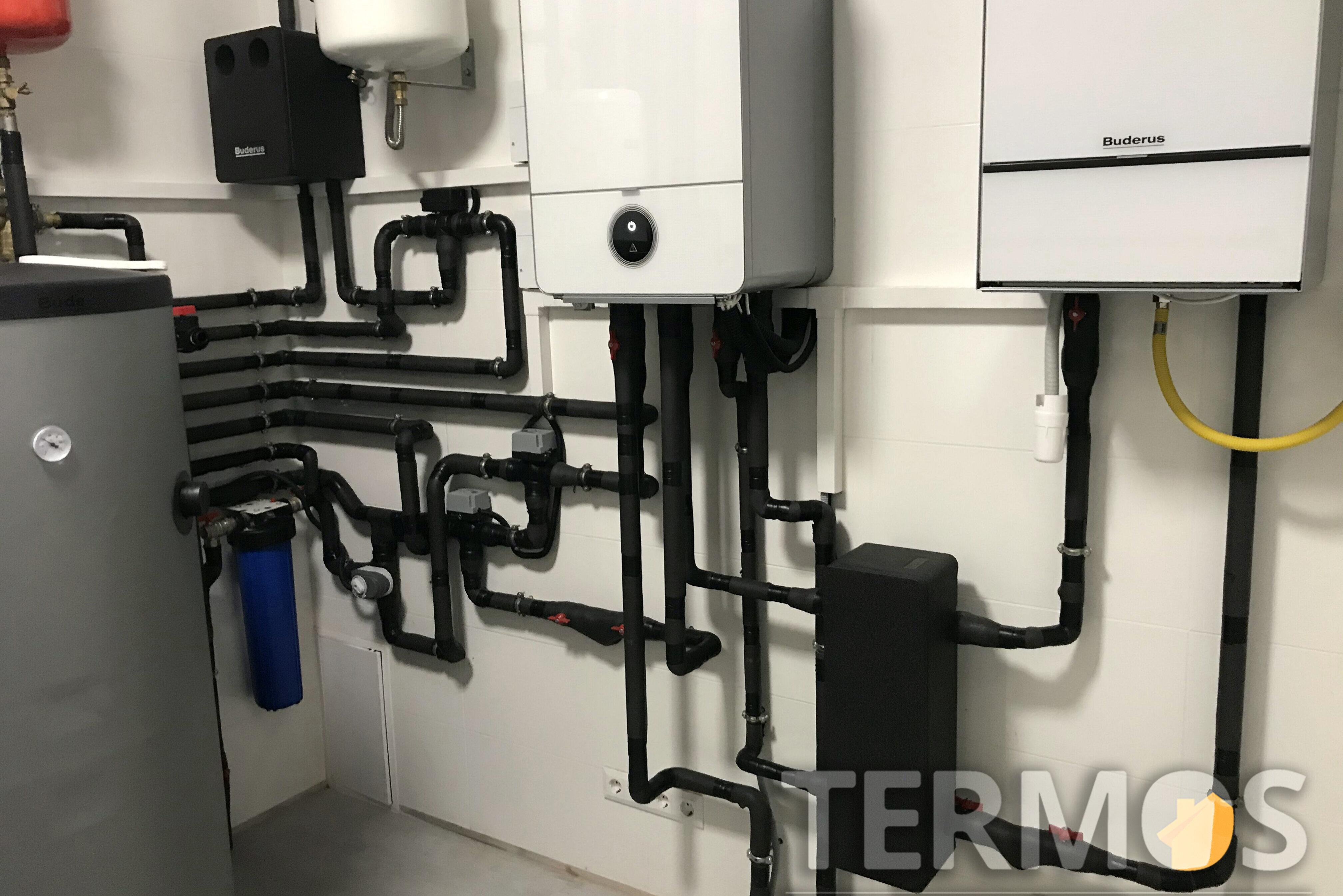 Автоматика теплового насоса, анализируя наружную температуру и режим  работы, выбирает источники тепла, обеспечивающие большую эффективность