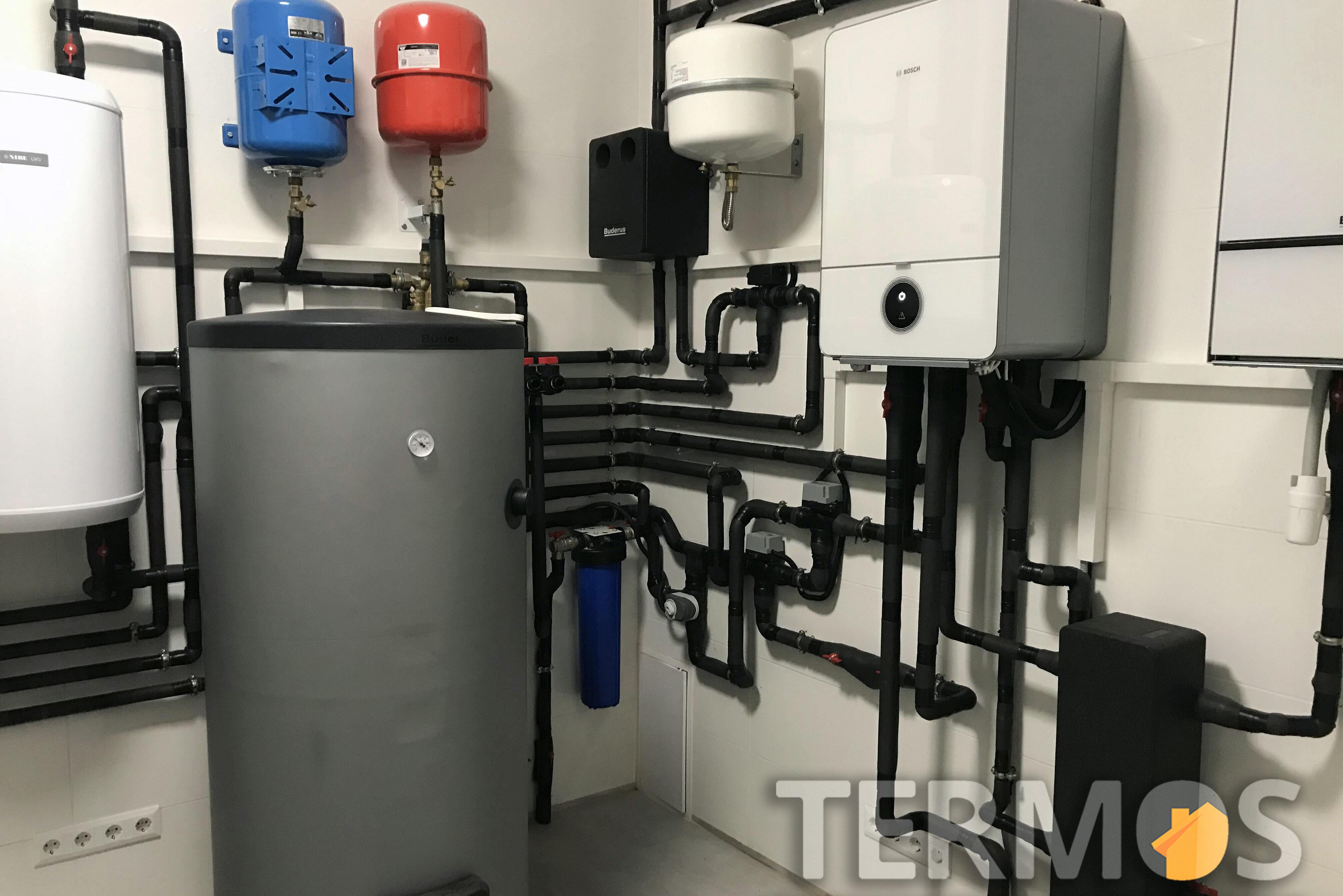 Газовый конденсационный котел BUDERUS (Германия) GB172i 24  кВт