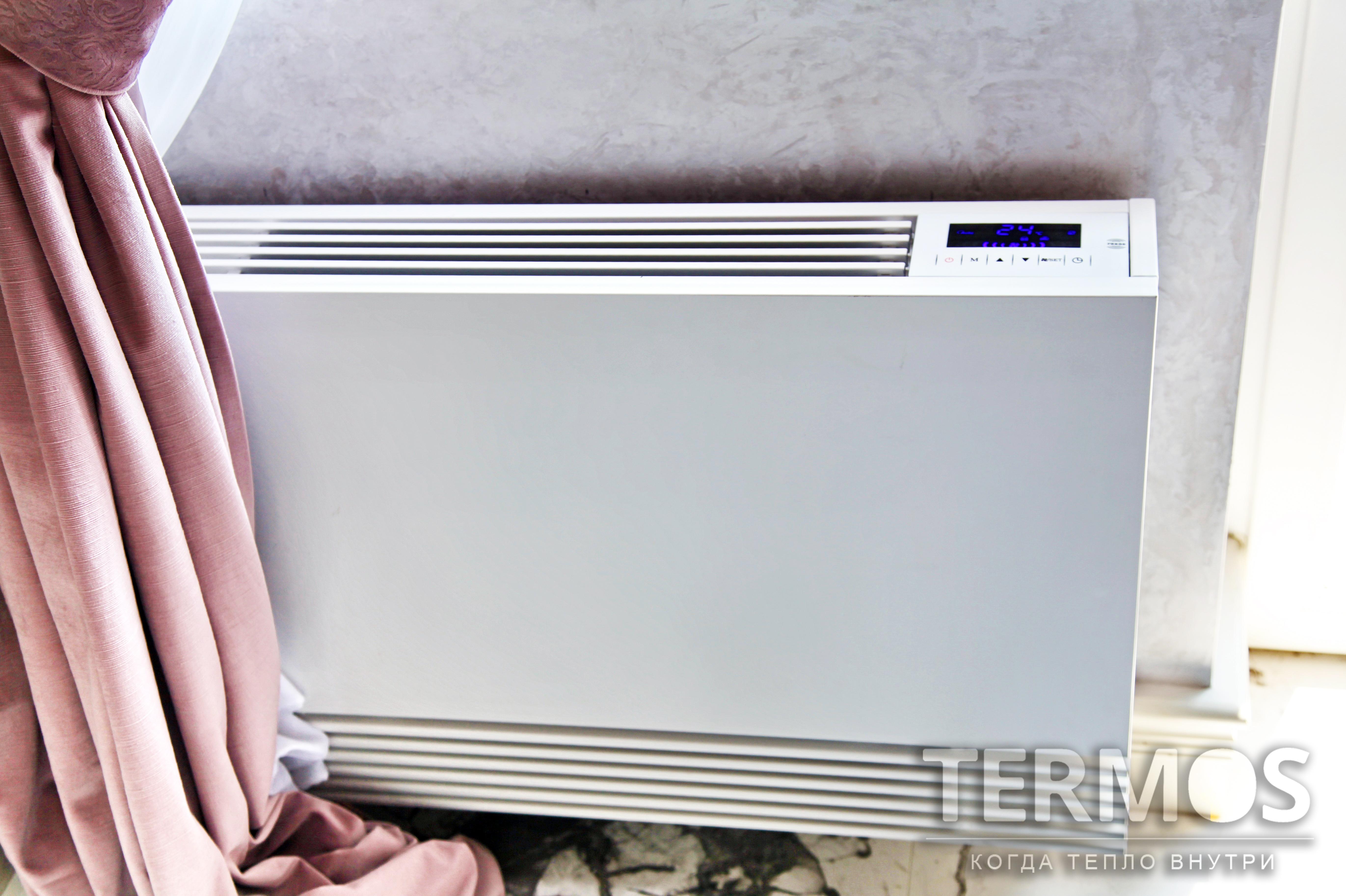 Фанкойл благодаря универсальной возможности работать в режимах обогрев/охлаждение часто применяется в системах с тепловыми насосами