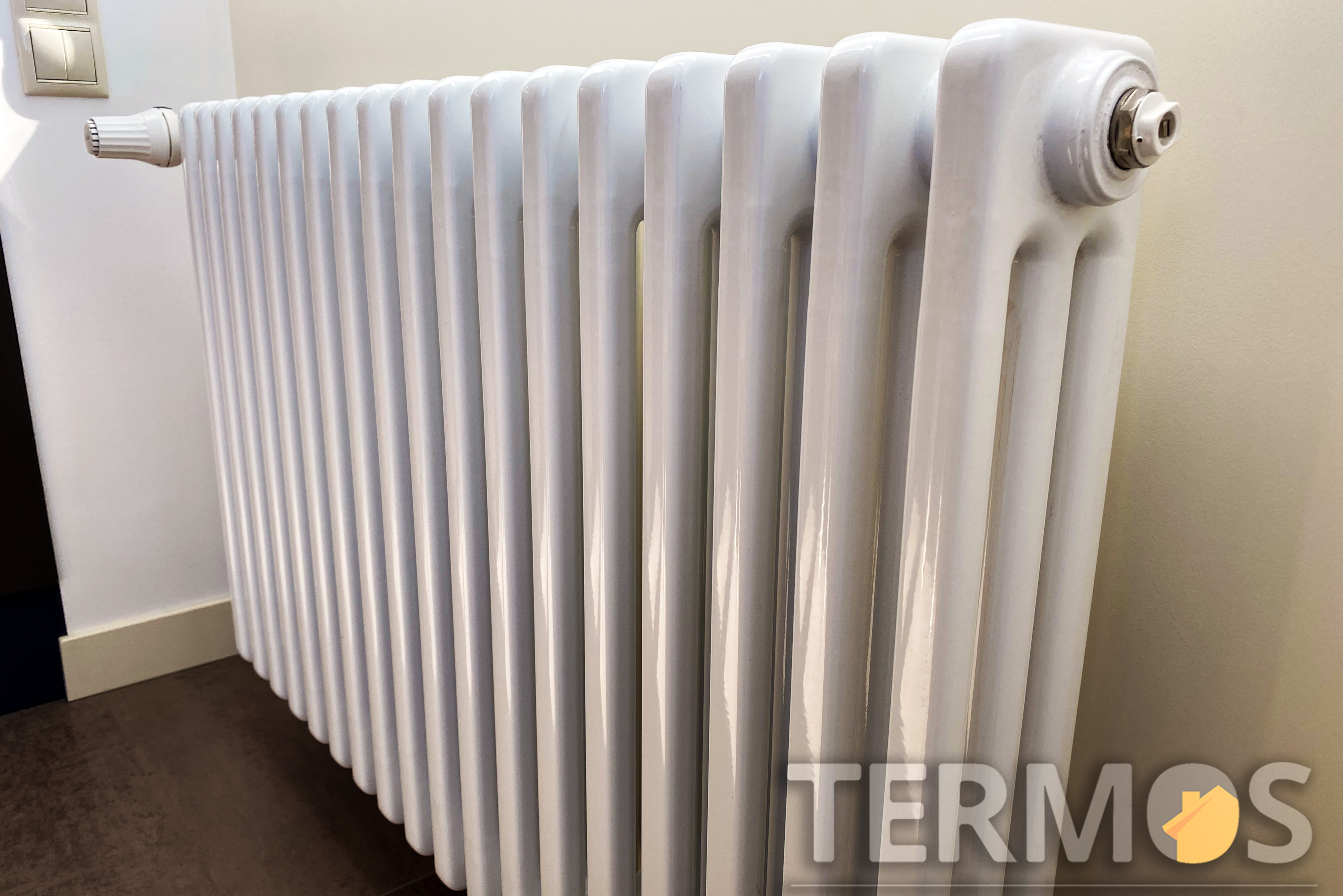 Трубчатые радиаторы могут иметь различное количество труб в глубину