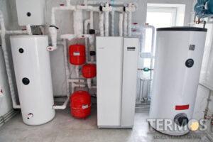 """2020 год Проект """"Плюты"""" - коттедж 280 м2 - геотермальный тепловой насос NIBE 17 кВт"""