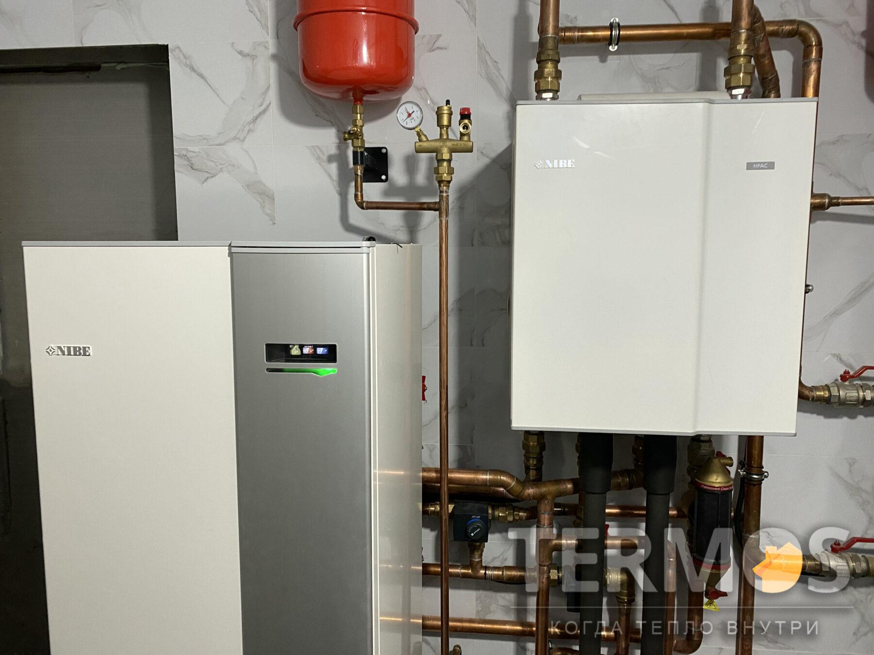 Гідравлічний модуль HPAC NIBE забезпечує режим пасивного / активного охолодження.
